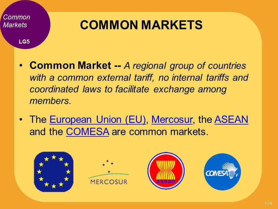 COMMON MARKETS Common Markets. LG5.