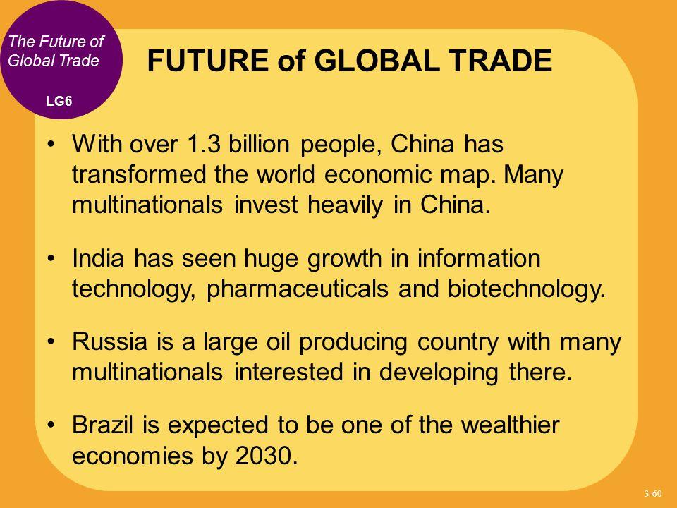 FUTURE of GLOBAL TRADE The Future of Global Trade. LG6.