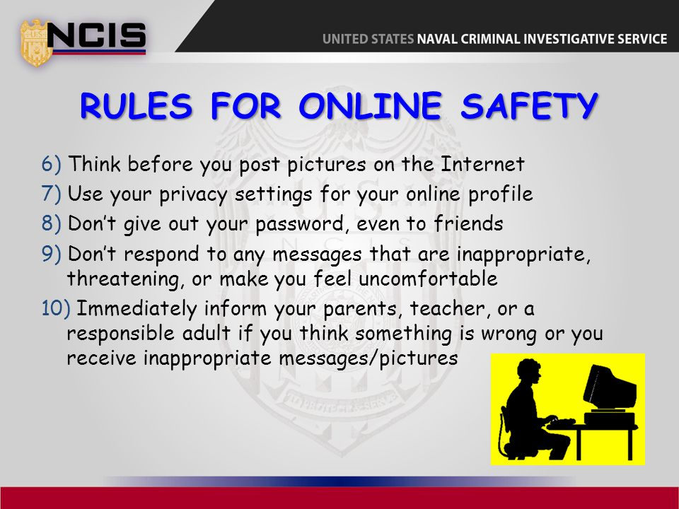 Rules for Online Safety