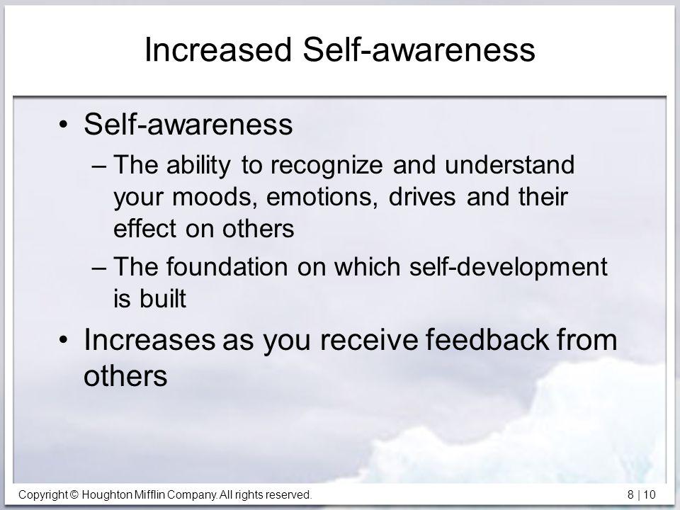 Increased Self-awareness