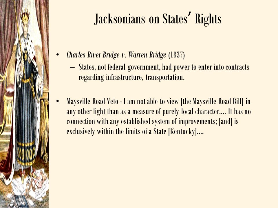 Jacksonians on States' Rights