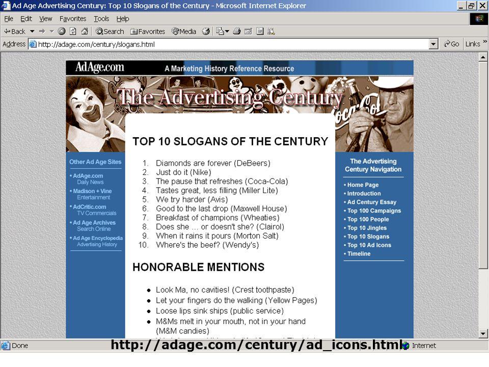 http://adage.com/century/ad_icons.html