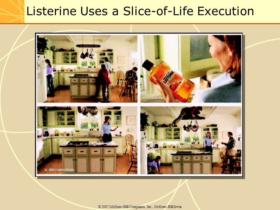 Listerine Uses a Slice-of-Life Execution