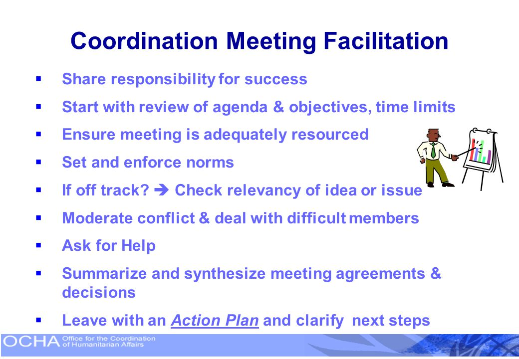 Coordination Meeting Facilitation