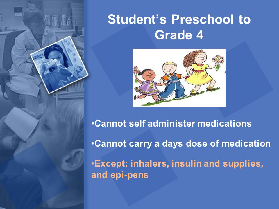 Student's Preschool to Grade 4