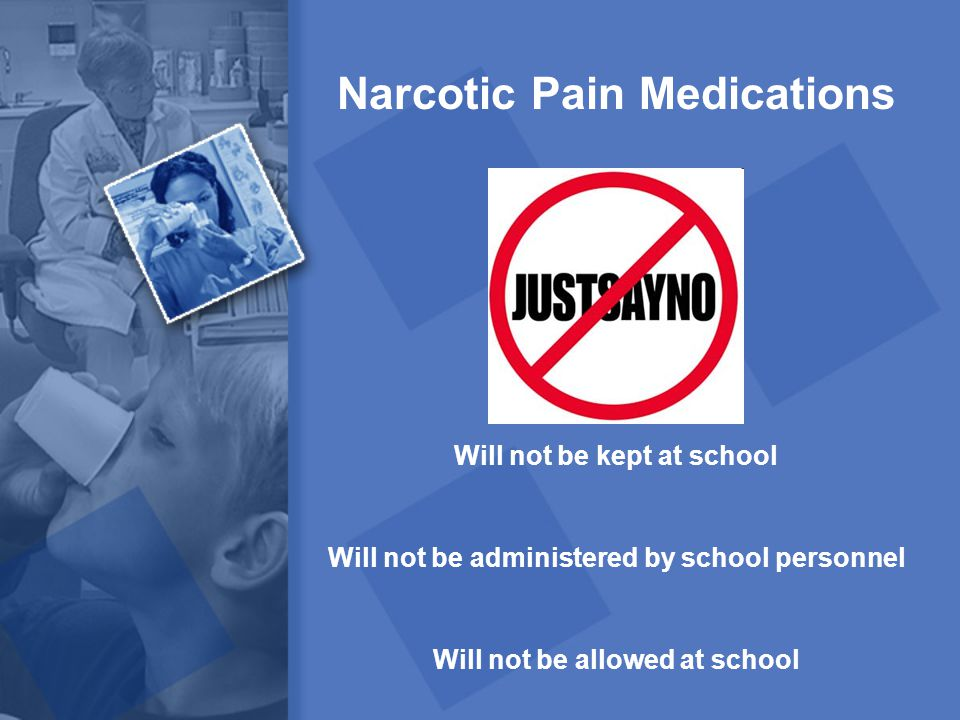 Narcotic Pain Medications