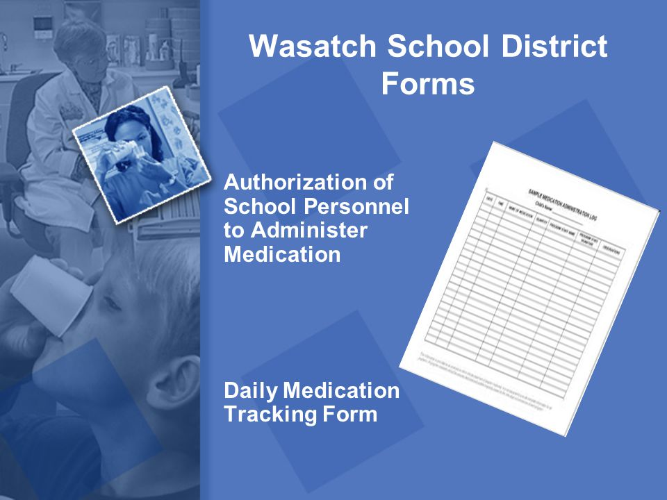 Wasatch School District Forms