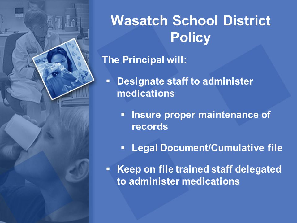 Wasatch School District Policy