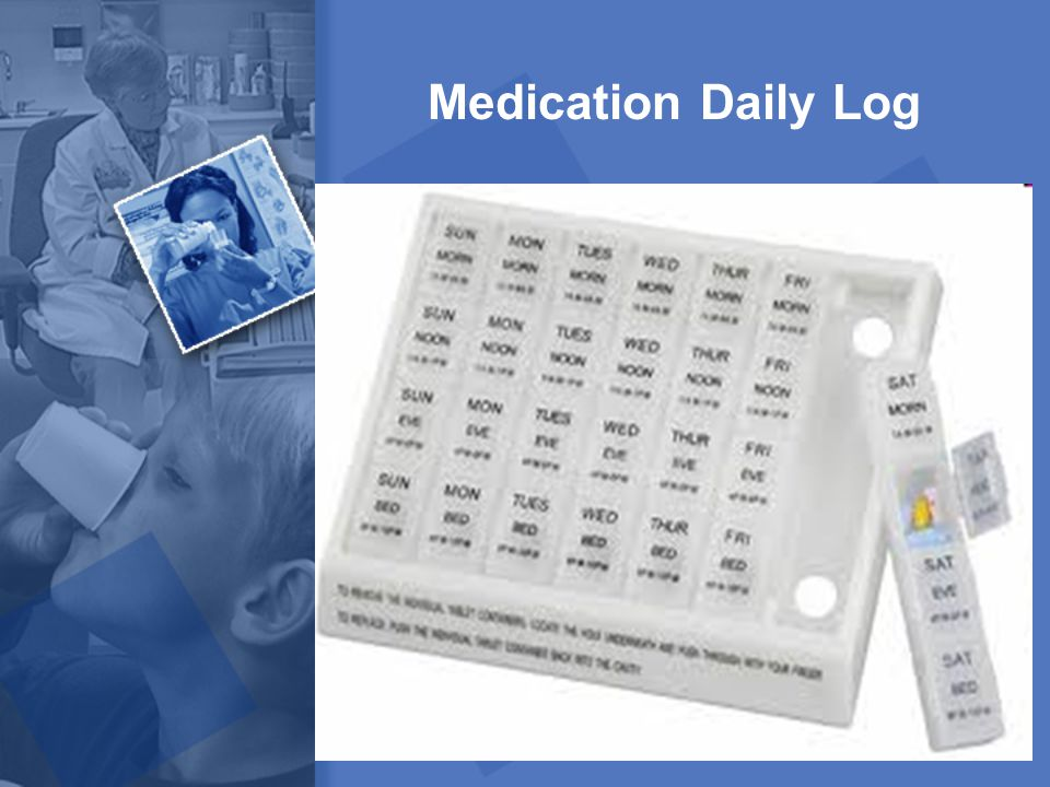 Medication Daily Log