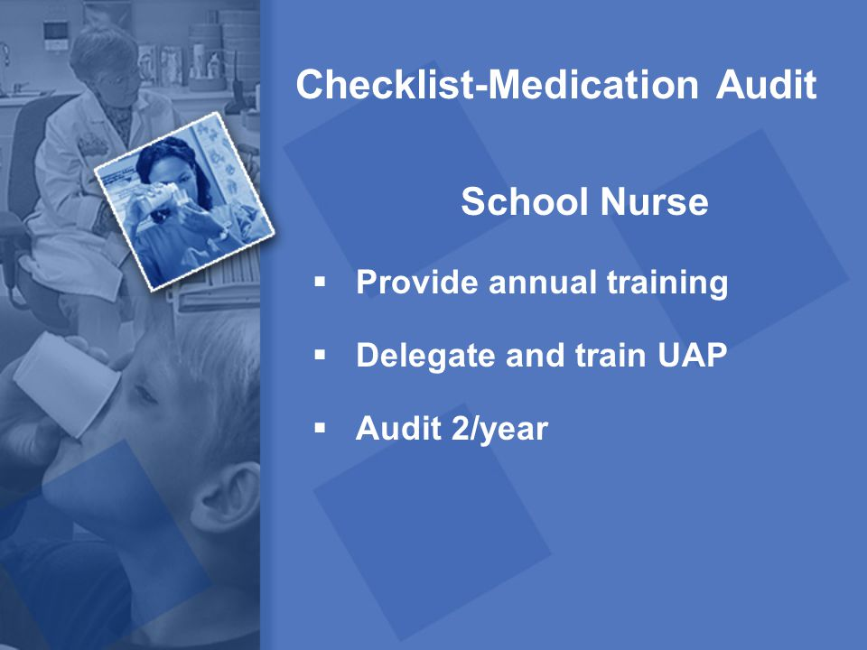 Checklist-Medication Audit