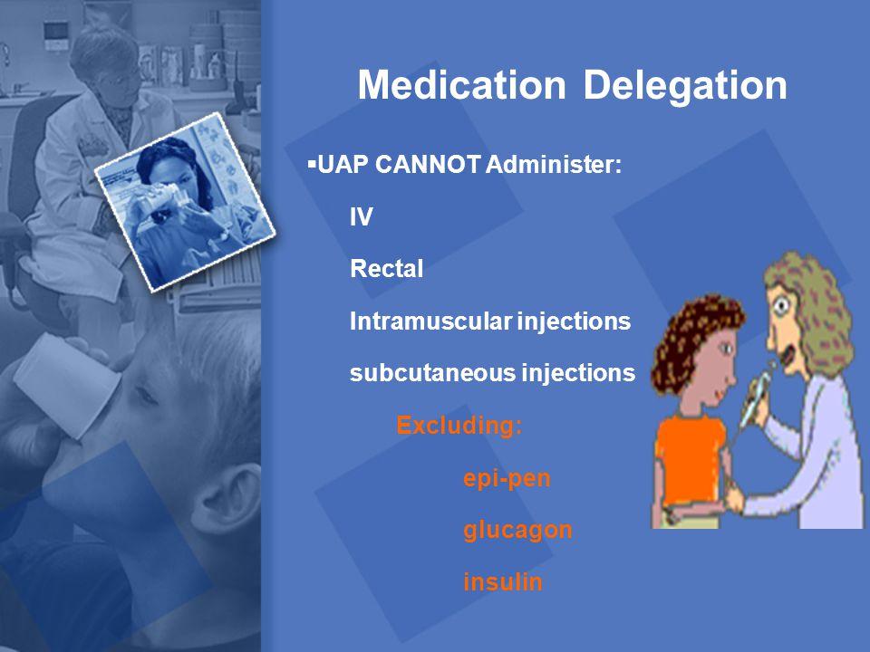 Medication Delegation