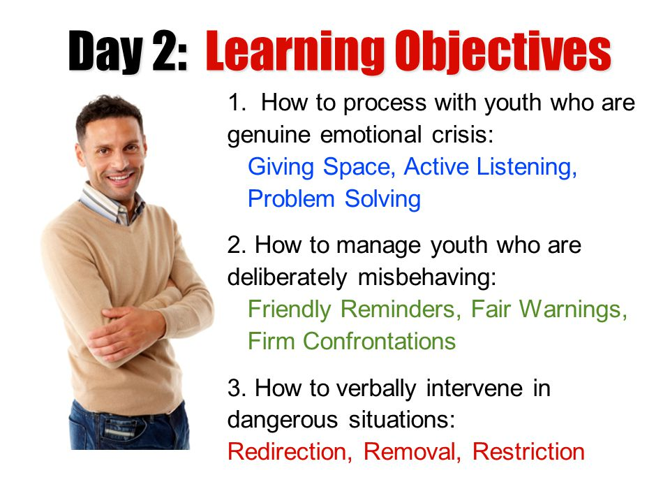 Day 2: Learning Objectives