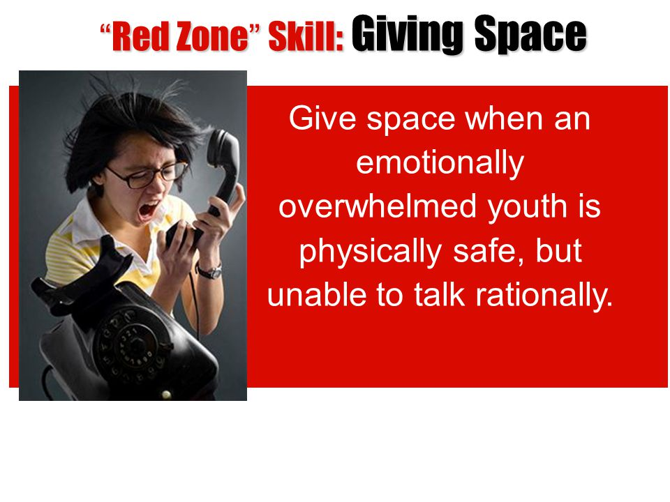 Red Zone Skill: Giving Space