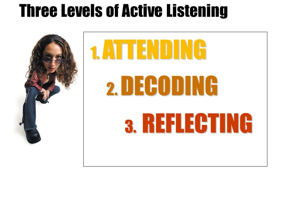 Three Levels of Active Listening