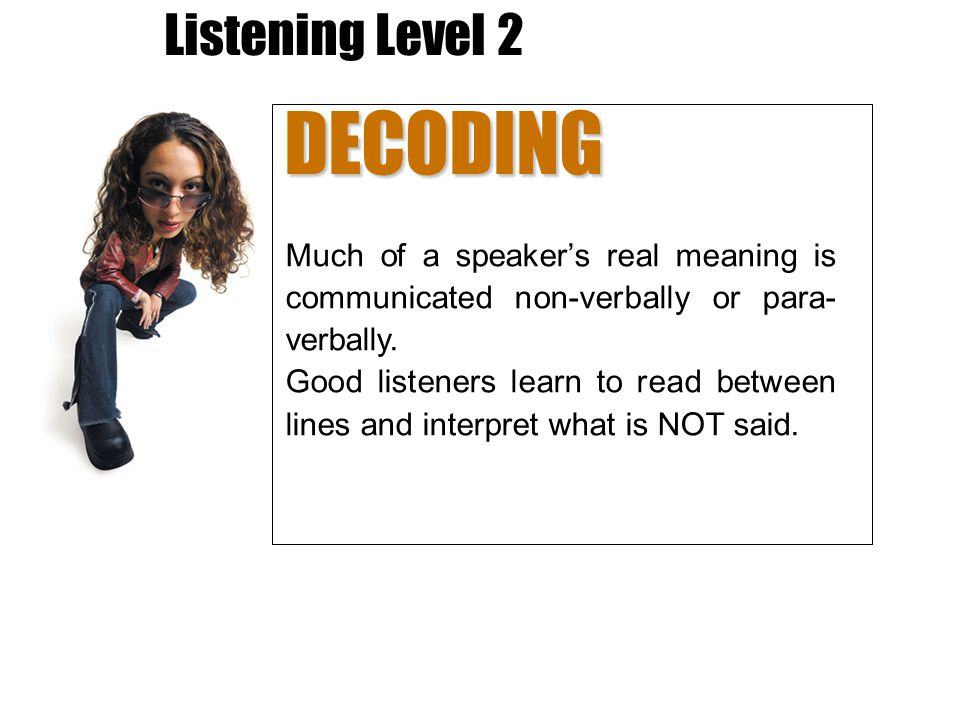 DECODING Listening Level 2