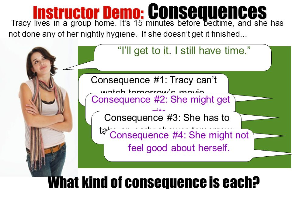 Instructor Demo: Consequences