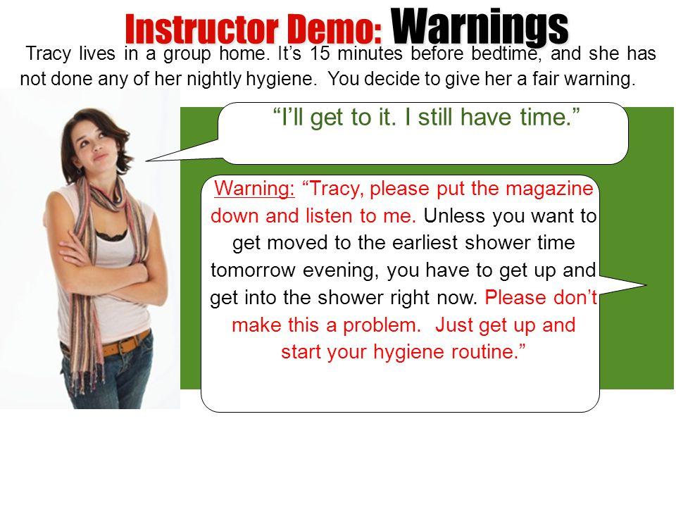 Instructor Demo: Warnings