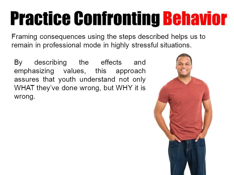 Practice Confronting Behavior