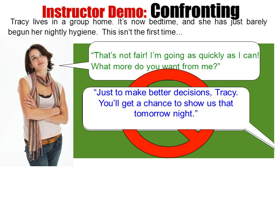 Instructor Demo: Confronting