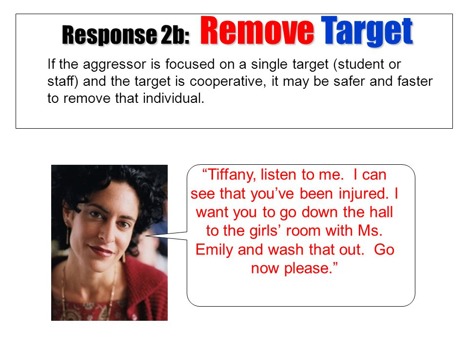 Response 2b: Remove Target