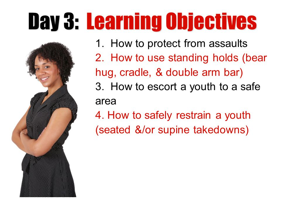 Day 3: Learning Objectives