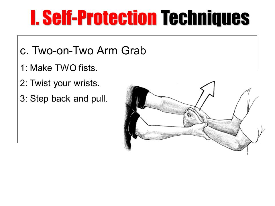 I. Self-Protection Techniques