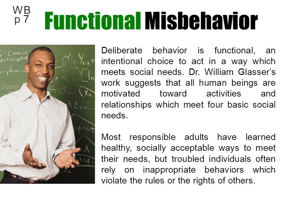 Functional Misbehavior