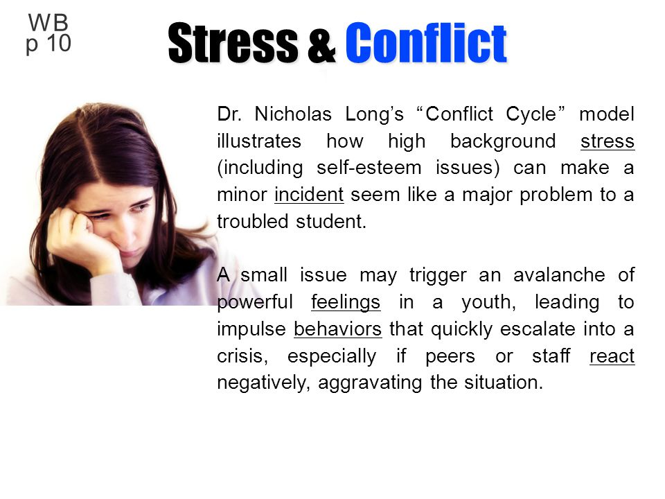 Stress & Conflict WB p 10.