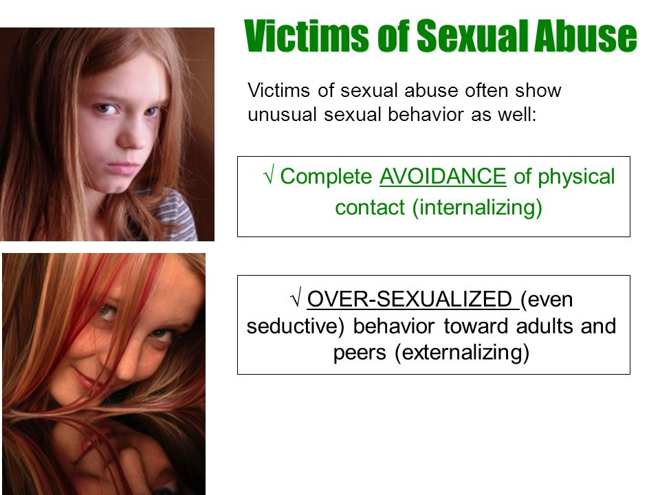 Victims of Sexual Abuse
