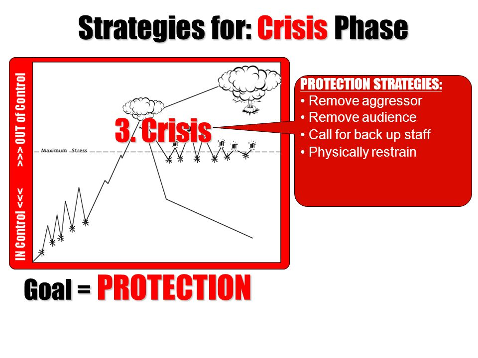 Strategies for: Crisis Phase