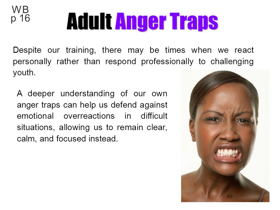 WB p 16 Adult Anger Traps.