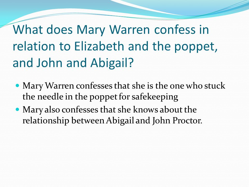 the crucible essay relationship between john and elizabeth proctor