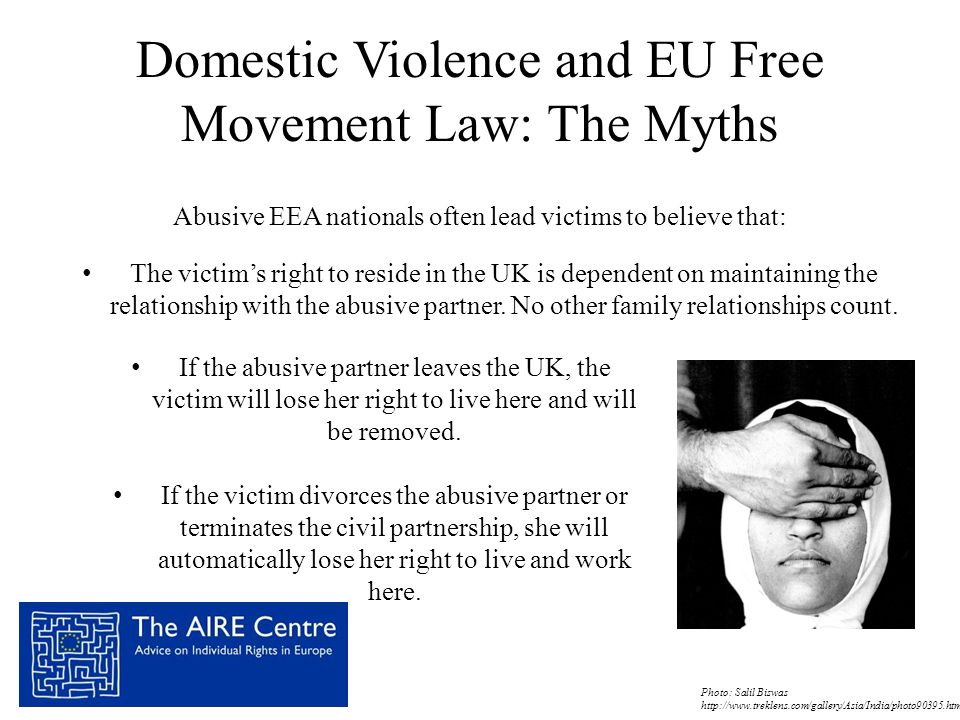Domestic Violence and EU Free Movement Law: The Myths