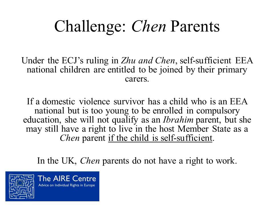 Challenge: Chen Parents