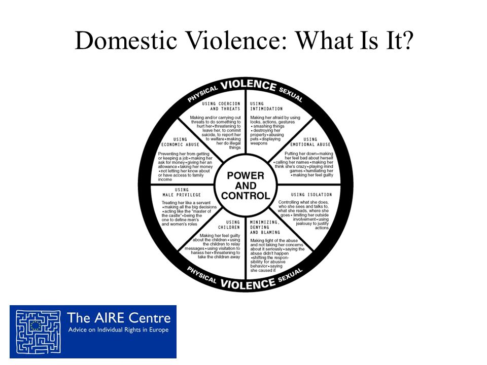 Domestic Violence: What Is It