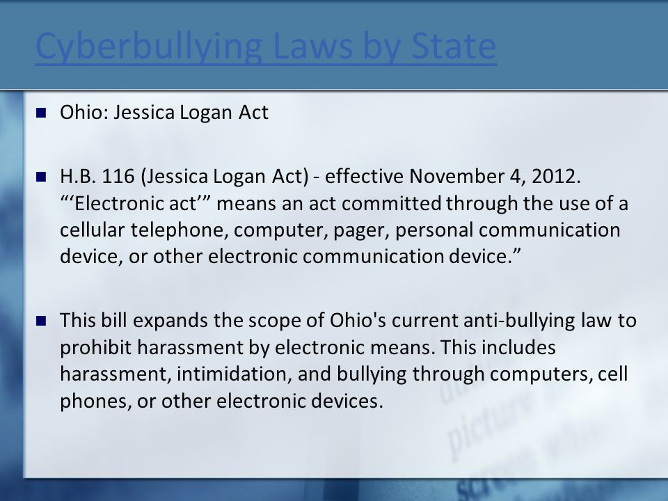 Cyberbullying Laws by State