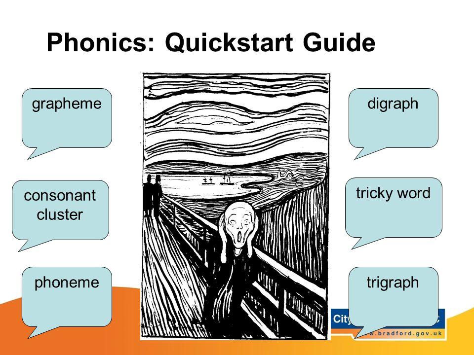 Phonics: Quickstart Guide