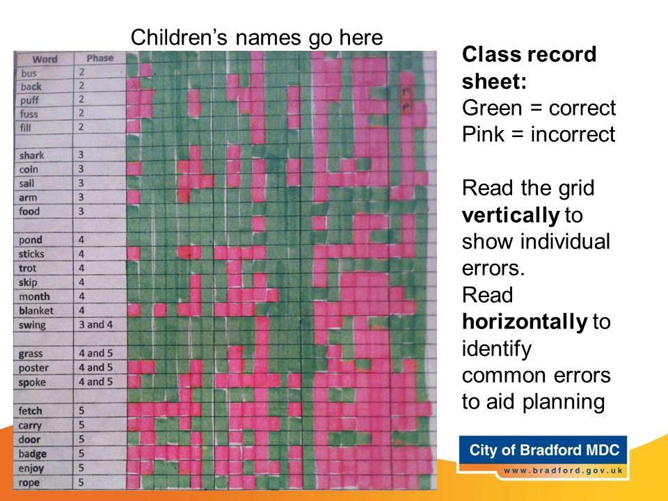 Children's names go here