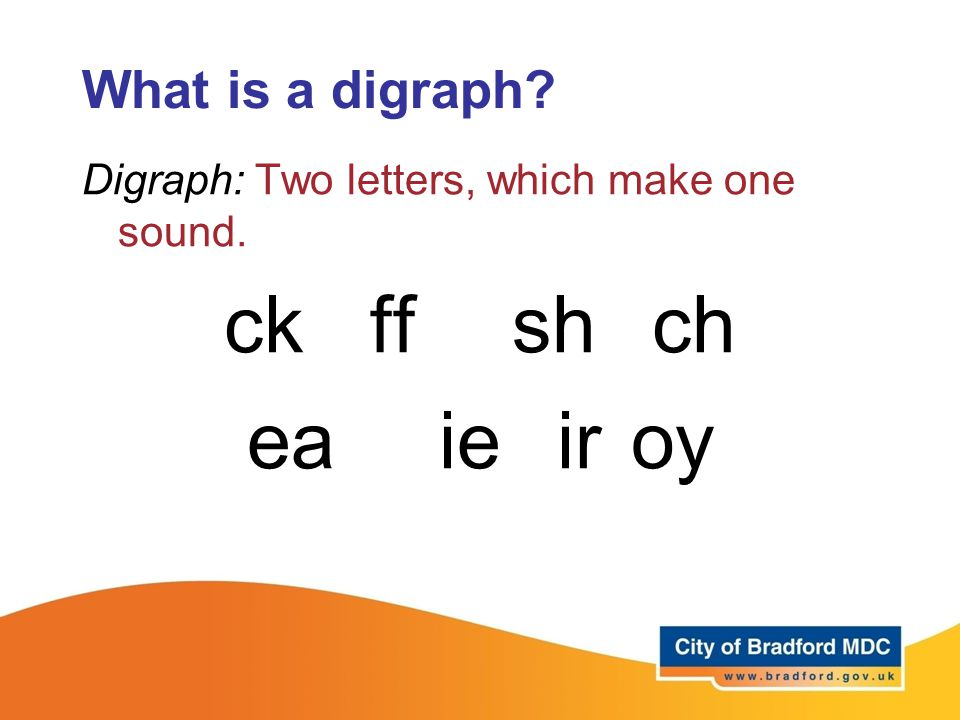 ck ff sh ch ea ie ir oy What is a digraph
