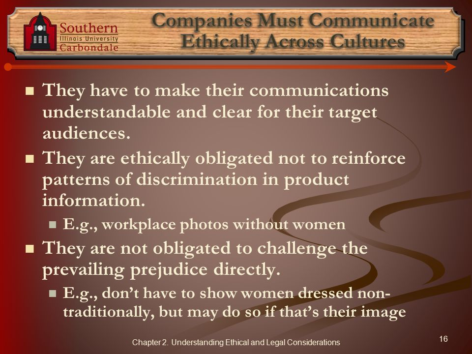 Companies Must Communicate Ethically Across Cultures