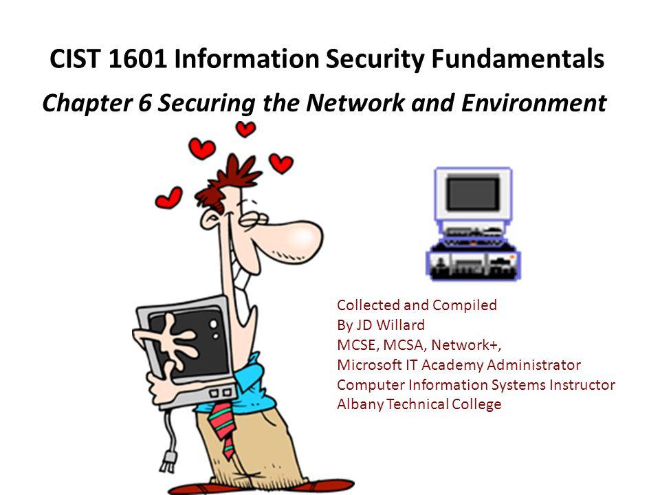 CIST 1601 Information Security Fundamentals
