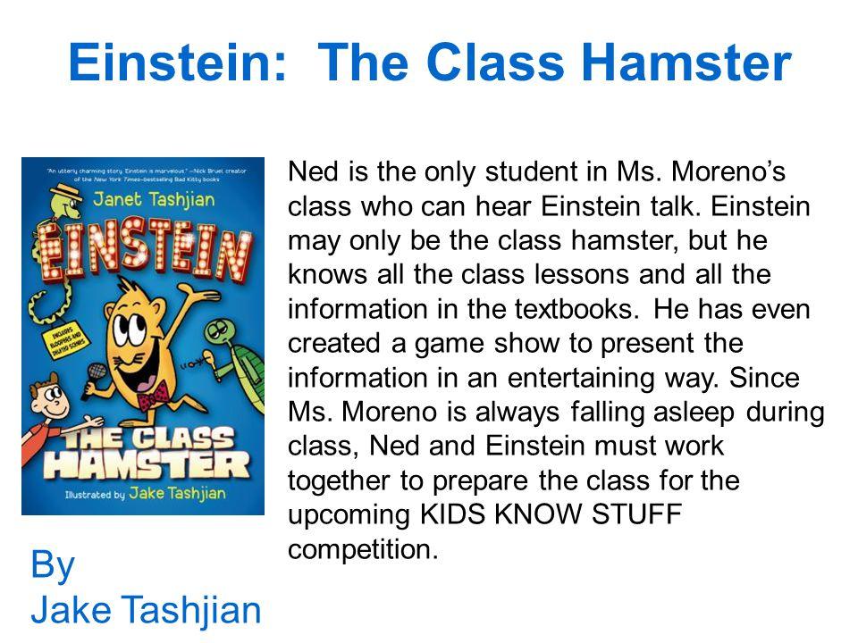 Einstein: The Class Hamster