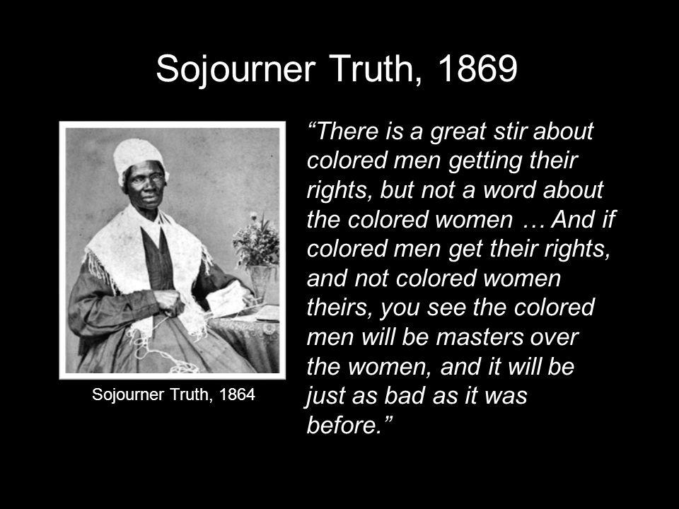 Sojourner Truth, 1869
