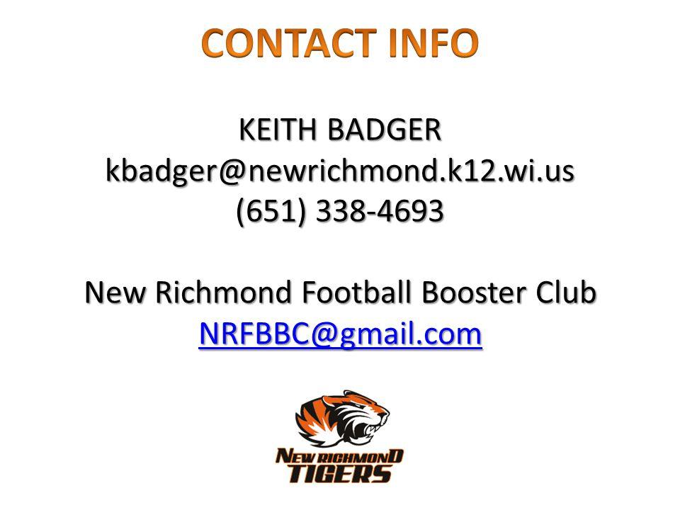 New Richmond Football Booster Club