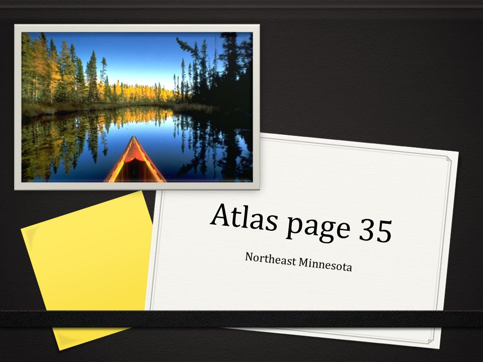 Atlas page 35 Northeast Minnesota