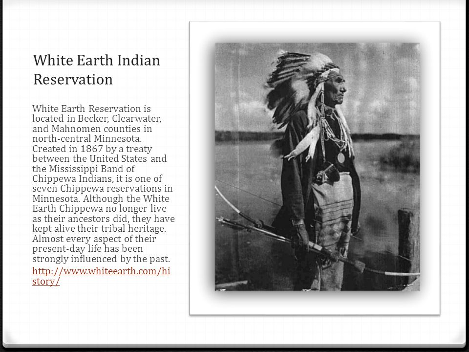 White Earth Indian Reservation