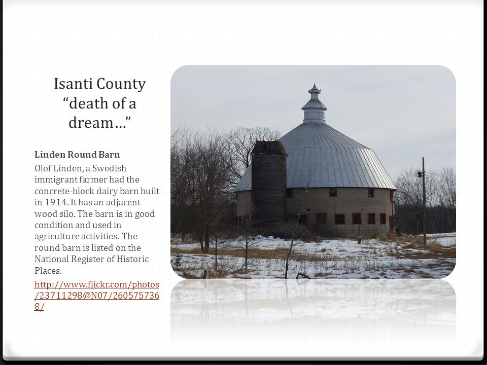 Isanti County death of a dream…