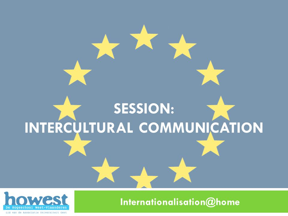 session: intercultural COMMUNICATION