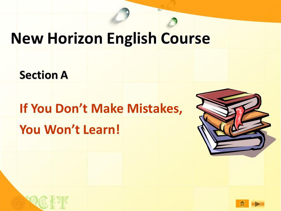 New Horizon English Course