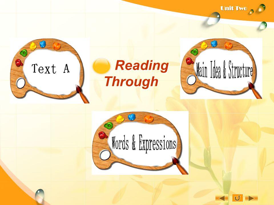 Reading Through